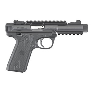 Ruger 22/45 Tactical 22lr 4.4 Thrd Blk Poly As Or