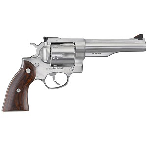 Ruger REDHAWK 44MAG 5.5 SS AS WOOD GRIPS 6RD