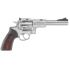 Ruger Super Redhawk 10mm 6.5 Ss As Rubber Grips