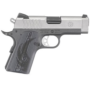 Ruger SR1911 9mm 3.6 Ss Officer Style G10 Grips