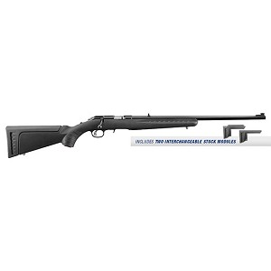 Ruger American 17hmr 22 Satin Blued