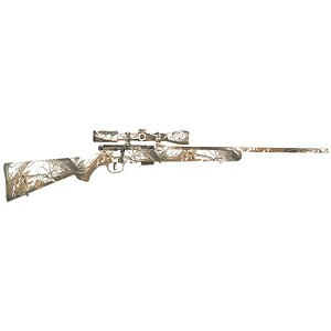Savage 93R17 XP Camo Snow 17hmr 22 3-9x40mm