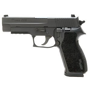 Sig Sauer P220 45acp Blk Tac Rail NS 2 8rd CA Legal