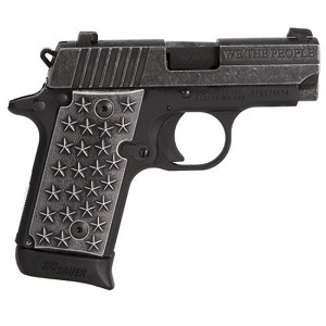 Sig Sauer 238 380acp We The People Distressed Finish