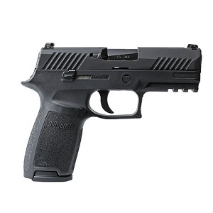 Sig Sauer P320 Carry 9mm Blk Nitron Cont Sights 17rd