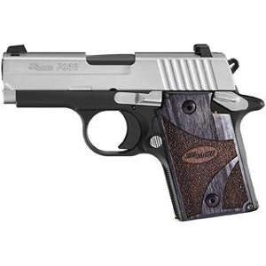 Sig Sauer P938 9mm Blackwood 2tone Ns Ambisafety 6rd