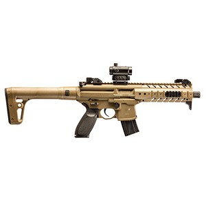 Sig Sauer Air Mpx 177cal 88gr Co2 Fde 30rd W/ Red Dot