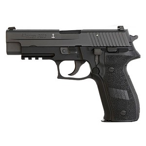 Sig Sauer P226 9mm Blk Nitron Anchor Engraving 3 15rd