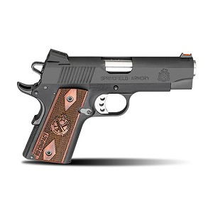 Springfield 1911 9mm Ltwt Comp Range Officer Blk