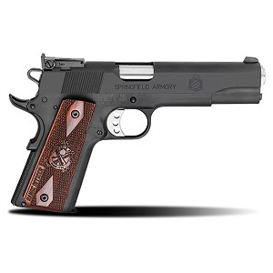 Springfield 1911 45acp 5 Range Officer Parkerized 8rd