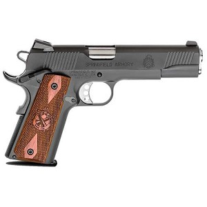 Springfield 1911-A1 45acp 5 NS Parkerized Loaded CAa Legal