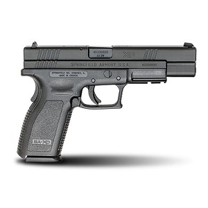 Springfield XD 40sw Tactical 5 Blk 10rd Ca Legal