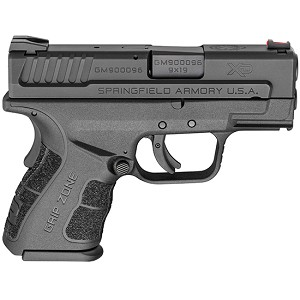 Springfield XDG 9mm 3 Blk Subcomp Mod2 2 16rd