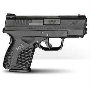 Springfield XDS 45acp 3.3 Blk (1) Mag