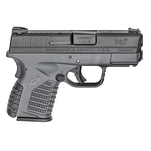 Springfield XDS 9mm 3.3 Gry Essentials Pkg 7rd 8rd