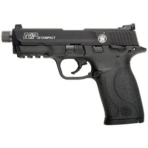 Smith & Wesson M&P22 Compact 22lr 3.56 Suppressor Ready