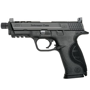 Smith & Wesson M&P9 9mm 4.25 Thrd Ported Bbl Blued Blk 17r