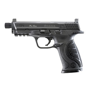 S&W M&P9 9mm 4.3 Thrd Bbl Opt Ready Blued Blk