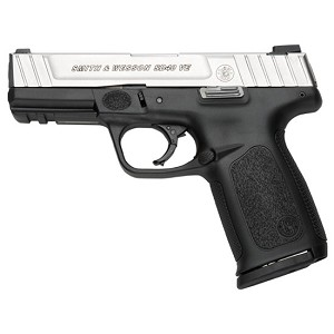 S&W Sd40ve 40S&W 4 Ss Blk Poly Fs 10rd Ma Legal