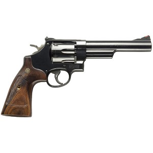 Smith & Wesson 57 Classic 41mag 6 6rd Blue Wood Grip
