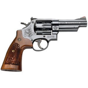 Smith & Wesson 29 44mag 4 Engraved 6rd Blued
