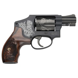 Smith & Wesson 442 38spl Engraved