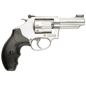 Smith & Wesson 63 22lr 3 8rd Satin Ss Front Fos Rear Adj