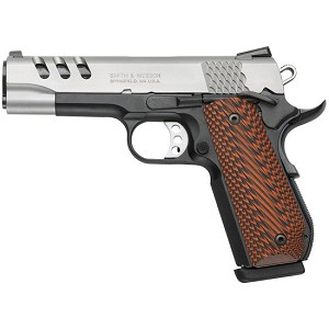 Smith & Wesson 1911 45acp 8rd 4.25 Two Tone Scandium