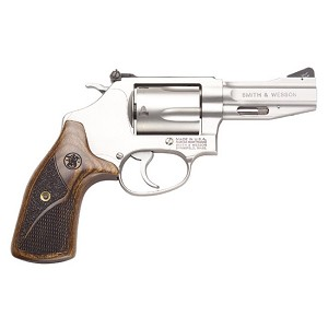 Smith & Wesson 60 357mag 3 Ss Pro 5rd Ns Wood Grip