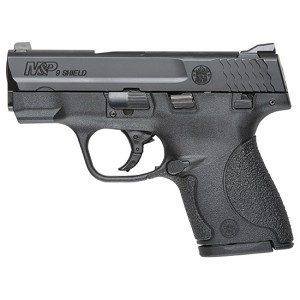 Smith & Wesson M&P Shield 9mm 3.1 Blk Poly 7&8rd Ma Legal