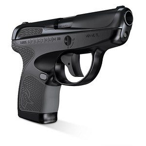 Taurus Spectrum 380acp 2.8 All Blk & Grey Om 6/7r