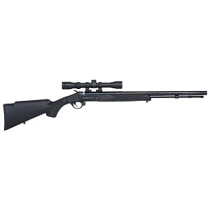 Traditions Buckstalker 50cal 24 Blued Blk Syn 3-9x40