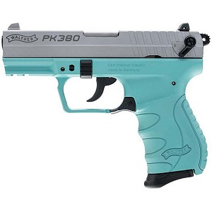 Walther Pk380 380acp 8rd 3.66 Robins Egg Blue