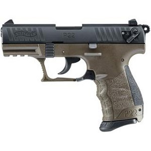 Walther P22 Military 22lr 3.42 CA Legal