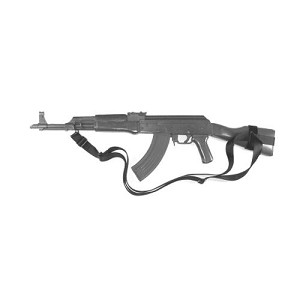 CQB SLING, AK-47 FULL STOCK, BLACK WITH ERB